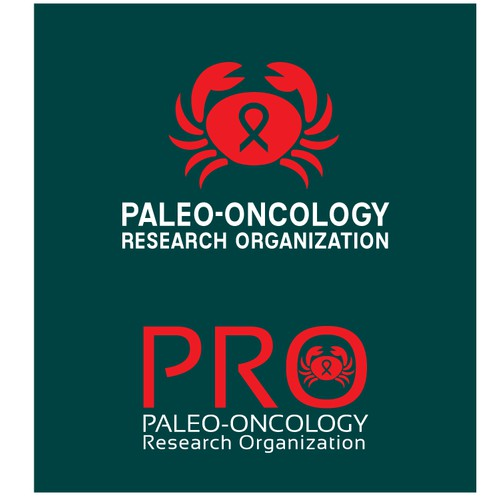 A memorable LOGO for a non-profit with a new perspective into CANCER RESEARCH