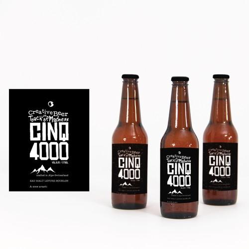 Cinq 4000 beer