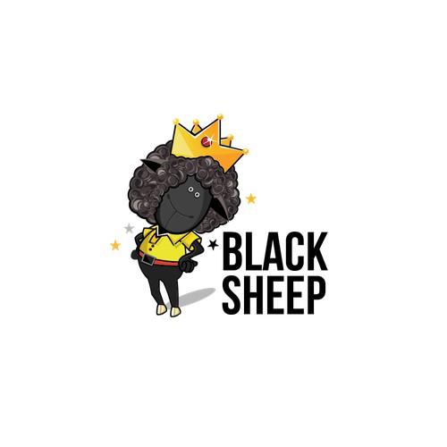 Black Sheep Logo