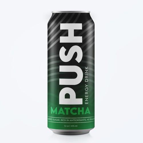 PUSH MATCHA ENERGY DRINK