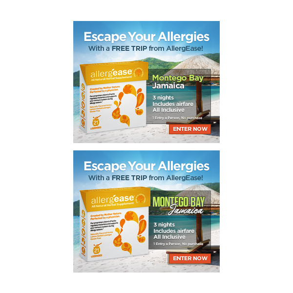 Help AllergEase with a new banner ad