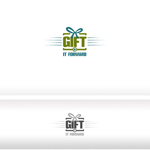 """Gift It Forward"" needs an original company logo."