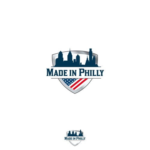 Made in Philly badge logo