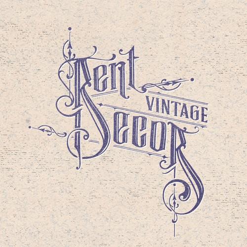Victorian Art nouveau Logo idea