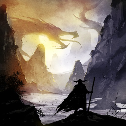 """Design / Illustration for Game called """"Hidden Dragons"""""""