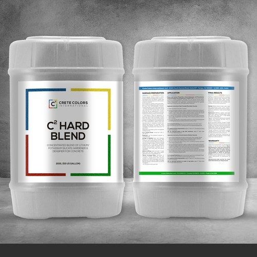 Modern Product Label Refresh - Construction Chemicals