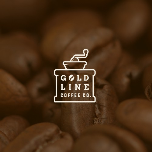 Logo for Gold Line Coffee Co.