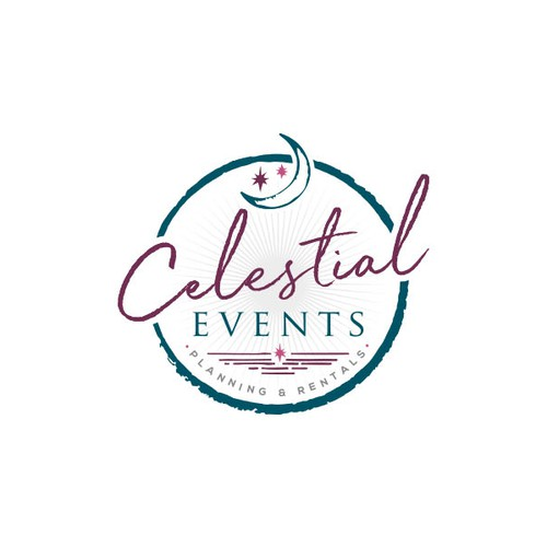 Logo for event planning and decor rentals