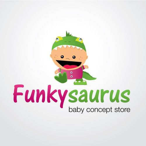 New logo wanted for Funkysaurus. Baby concept store