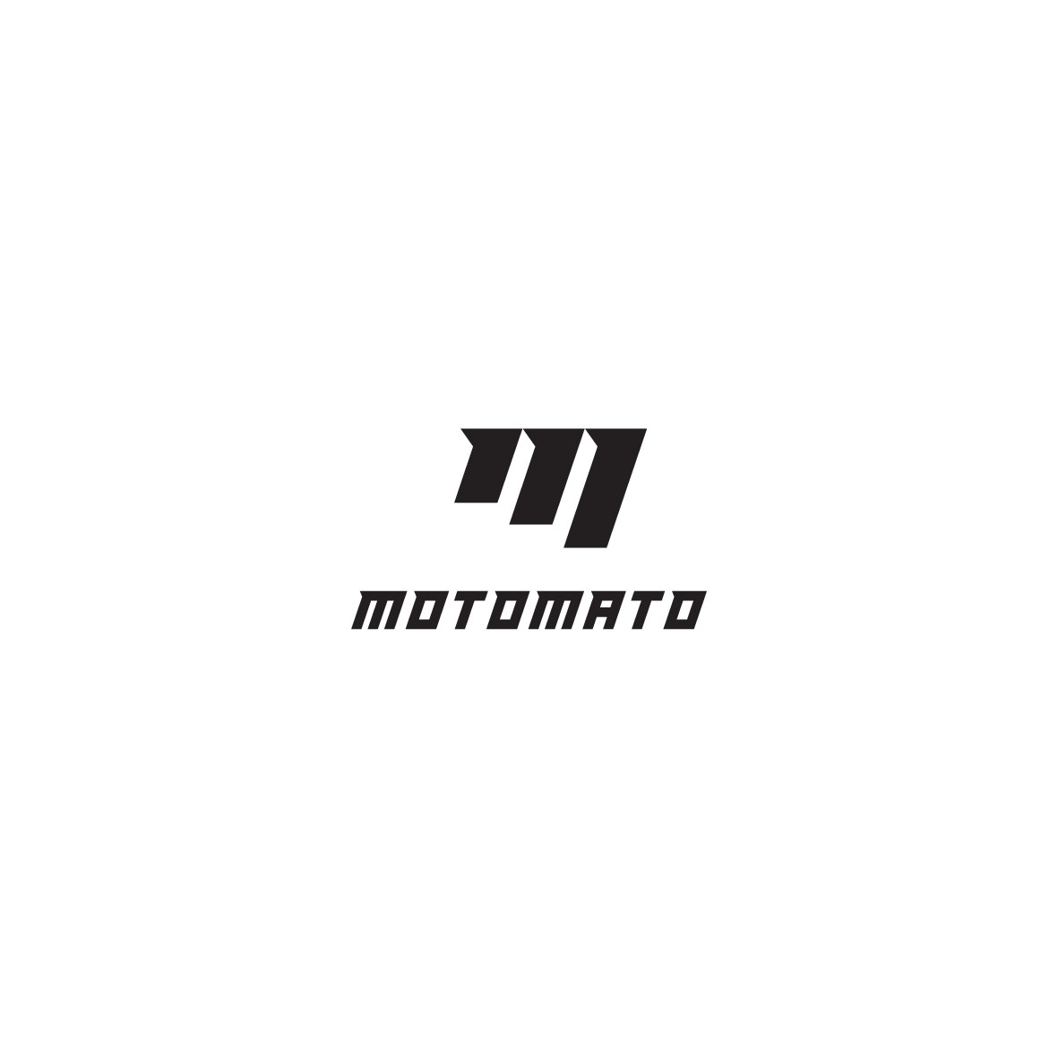 Stylish and minimal logo for an underdog motorcycle brand