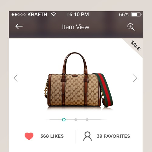 Virtual Closet iOS - UI