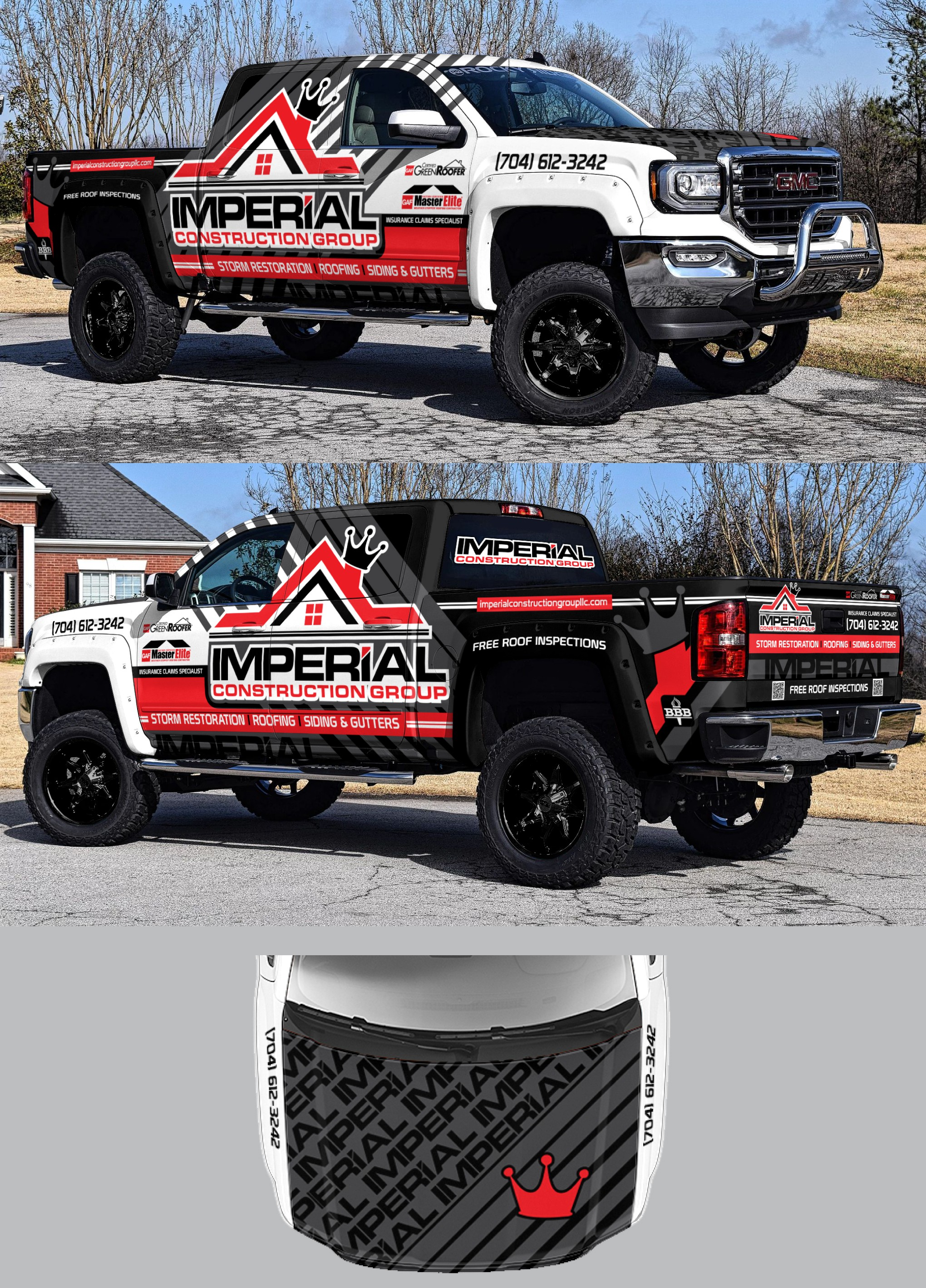 GUARANTEED: Modern Roofing Company Needs a Design for a Beautiful Truck!