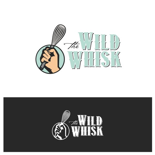 "Concept logo ""The Wild Whisk"""