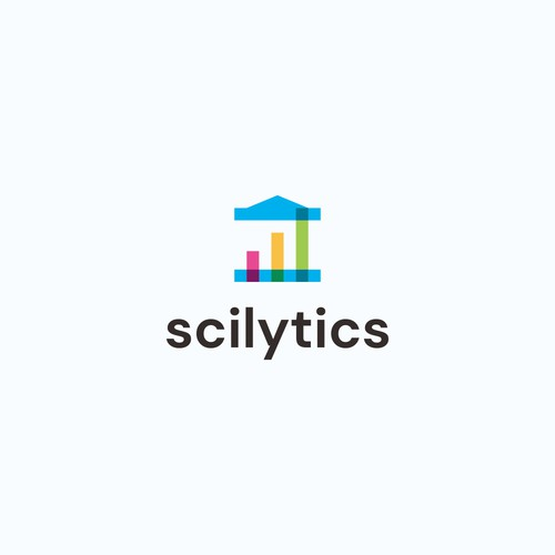 Serious yet attractive logo for education technology startup: Scilytics
