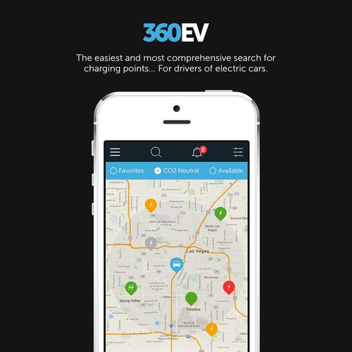 Create the new Waze app for Electric Car Drivers!