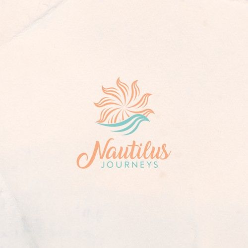 Nautilus Journeys logo concept