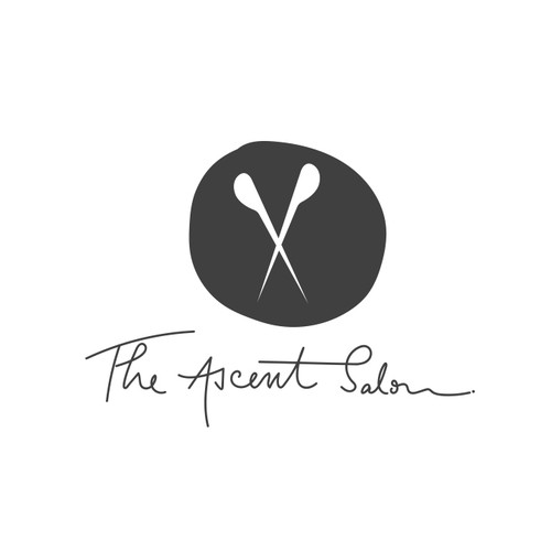 Logo design for The Ascent Salon