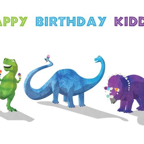 Children's Birthday card