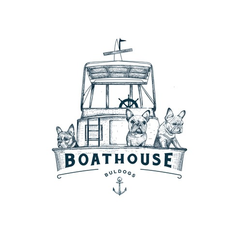Bold logo for Boathouse