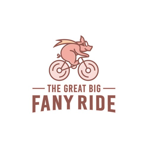 Playful Logo For Bicycle Tour Company