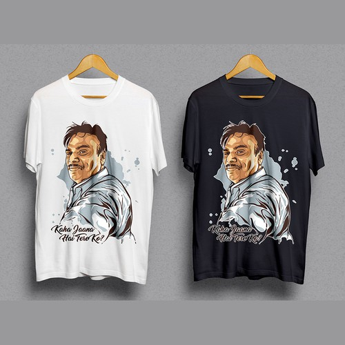 Vector Portrait Tshirt Design