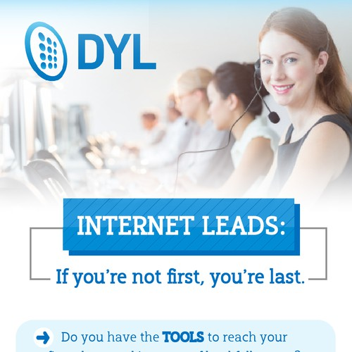 DYL Infographic: Lead Response - If you're not first, you're last.