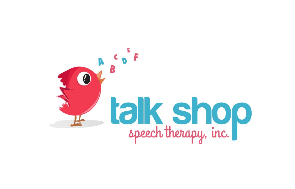 Make a playful logo for a kids' speech therapy practice!