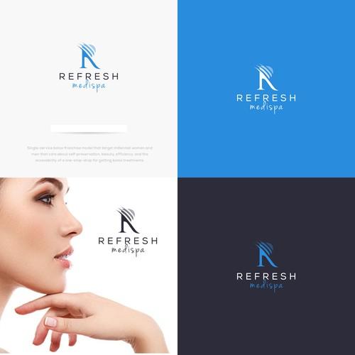 Logo Concept for REFRESH MEDISPA