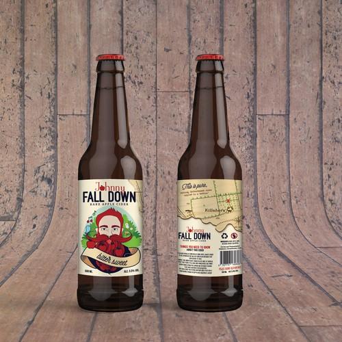 Rare Apple Irish Cider Label
