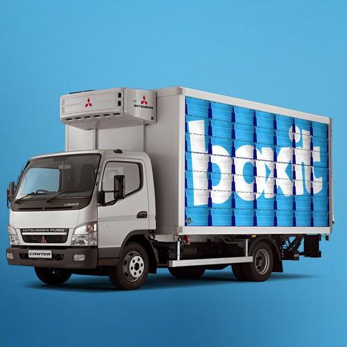 Winning Truck wrap design