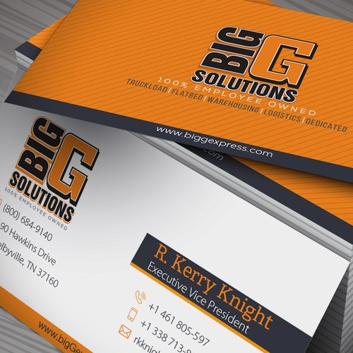 Just Business Cards (NOT Logo)