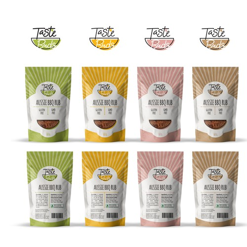 Taste Buds Packaging Gourmet Food