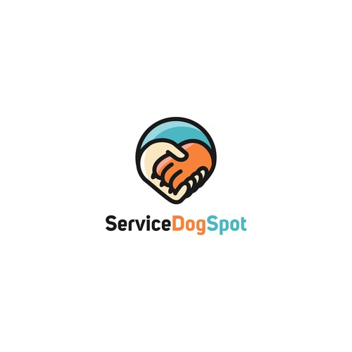 Logo for Service Dog Spot
