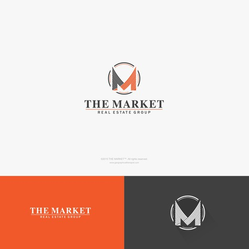 Sophisticated yet a little Edgy logo for THE MARKET