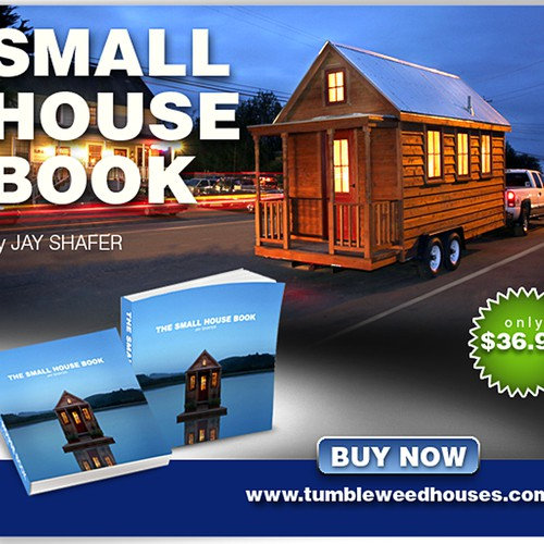 Small House Book Banner Ad (300 x 250)