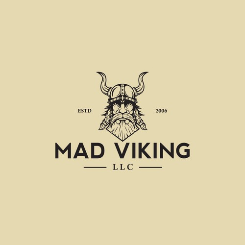 Logo design for MAD VIKING