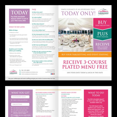 Free Wedding Offer Brochure