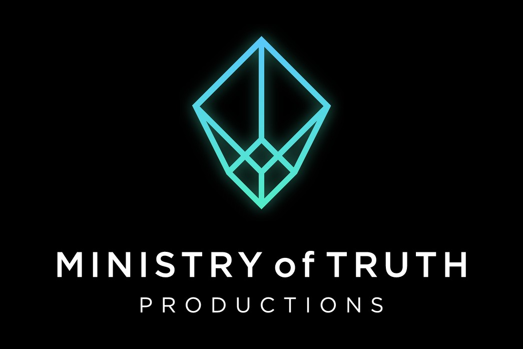 Film production company Ministry of Truth needs a smart logo