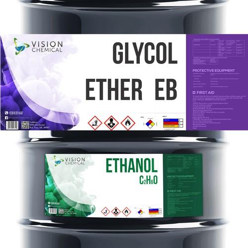 barrel label