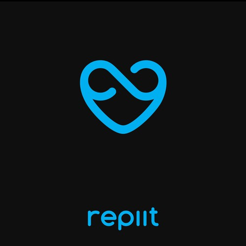 Bold logo design for Repiit