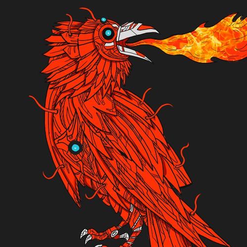 Fire raven contest