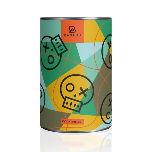 Packaging Design for Banamu