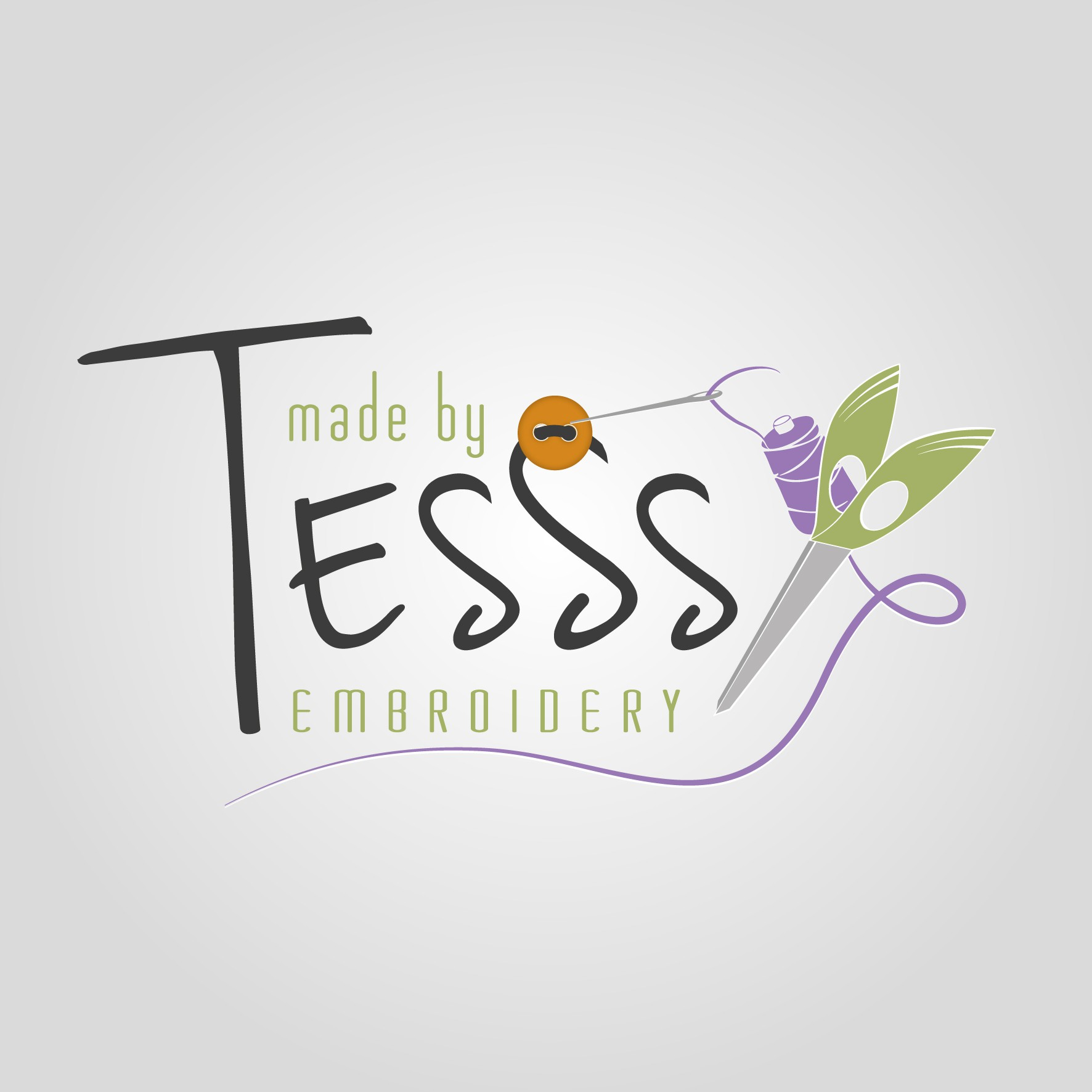 logo for Made by TESSS embroidery