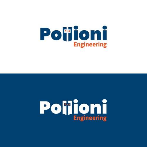 Pollioni Engineering Logo design