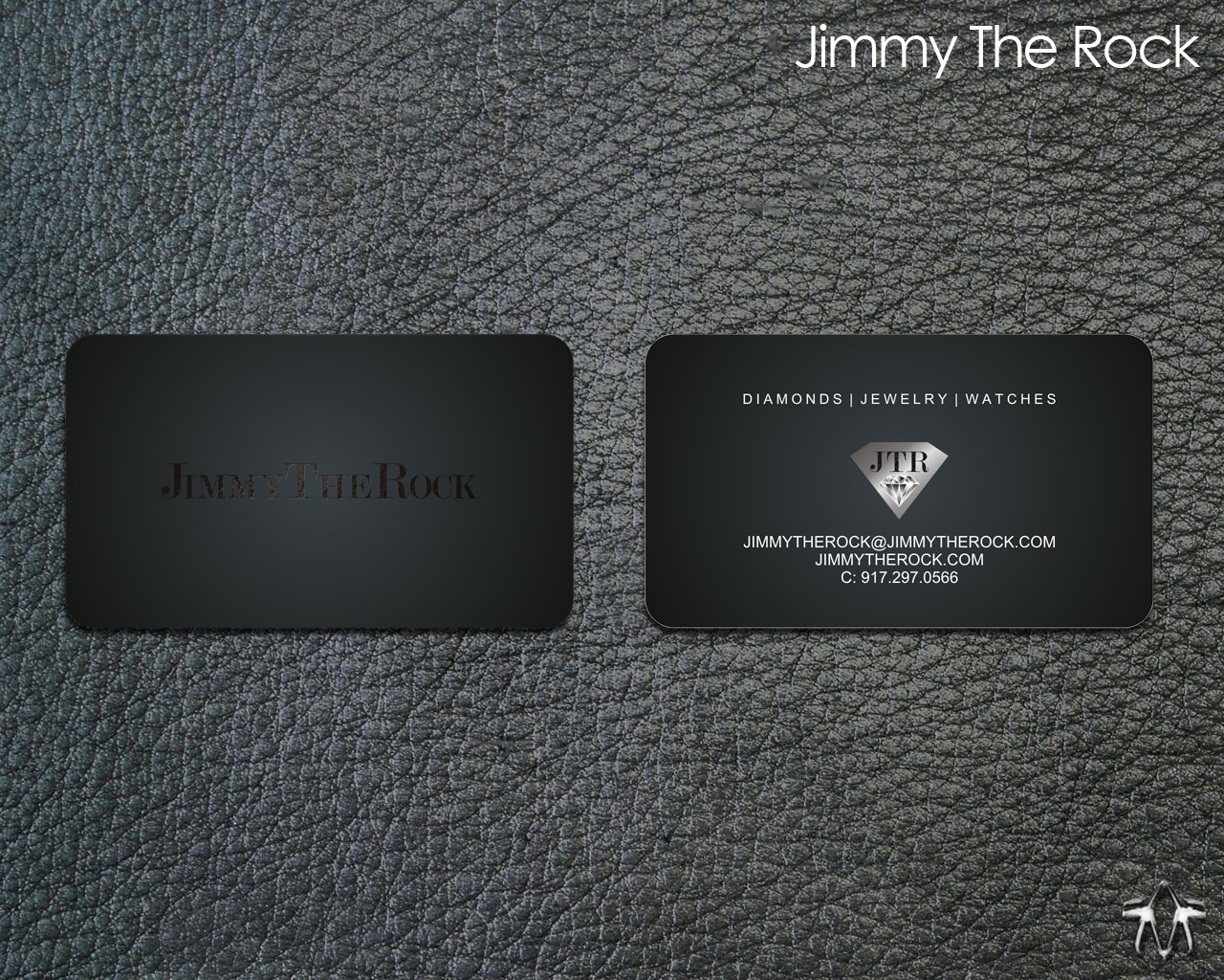 Jimmy The Rock needs a new stationery