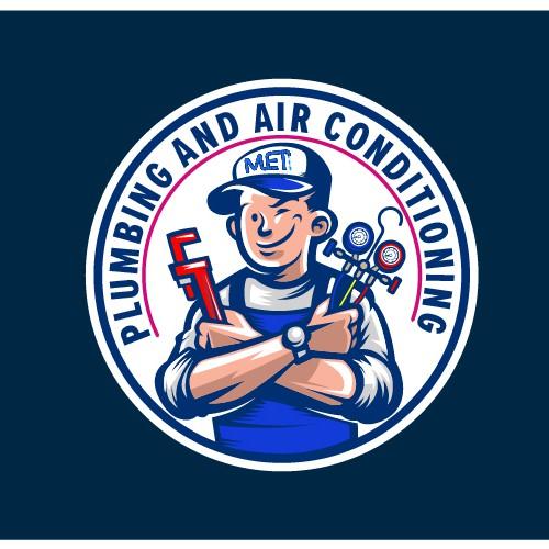 Logo for MET Plumbing Service