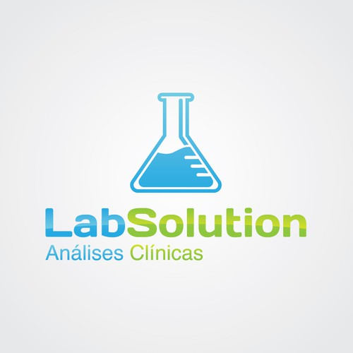 """Logo for """"Lab Solution"""" - pharmaceutical clinic"""