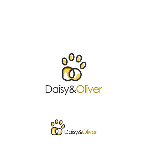 D + O + foot cat = Daisy and Oliver