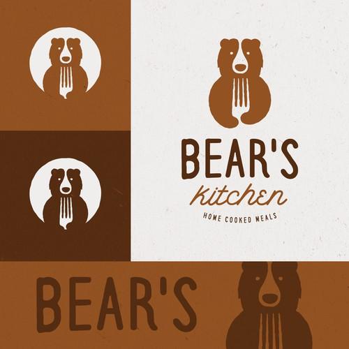 Bear logo for Bears Kitchen