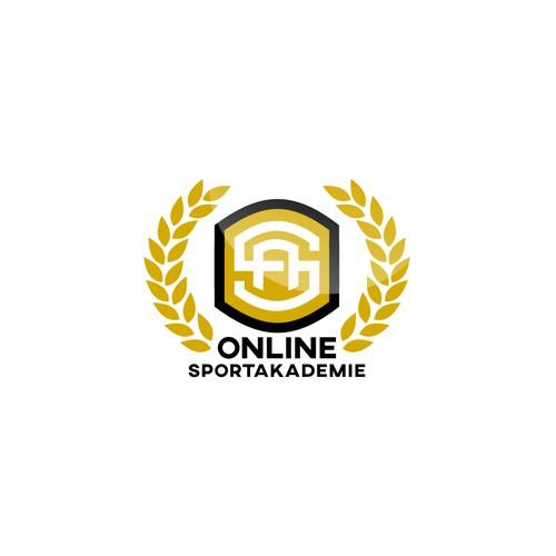 Modern logo concept for academy